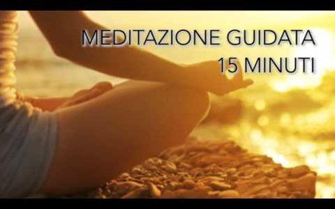 Meditazione guidata quotidiana 15 minuti - Con campane tibetane